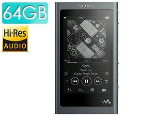 SONY/ソニー NW-A57-B(グレイッシュブラック) 64GB ウォークマンAシリーズ(メモリータイプ) ヘッドホン付属なし