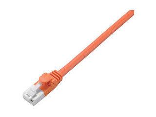 ELECOM/エレコム CAT5E対応 爪折れ防止 LANケーブル 5m 簡易パッケージ LD-CTT/DR5/RS オレンジ
