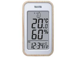 タニタ タニタ デジタル温湿度計  ナチュラル TT572NA