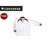CONVERSE/コンバース CB462506S-1129 Jr.ウォームアップジャケット 【140】 (ホワイト×ネイビー)の画像