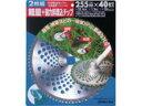 KINBOSHI/キンボシ 斜埋込チップソー230mm36枚刃2枚組/210428