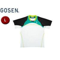 GOSEN/ゴーセン T1414 ゲームシャツ 【L】 (エメラルドグリーン)の画像