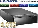 I・O DATA/アイ・オー・データ トランスコード搭載 ハイビジョンレコーディングハードディスク RECBOX 4TB HVL-DR4.0