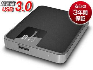 WESTERN DIGITAL/ウエスタンデジタル USB3.0対応ポータブルハードディスク My Passport for Mac 3TB WDBCGL0030BSL-PESN
