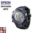 EPSON/エプソン 【オススメ】SF-850PS Wristable ランニングギア (スポーティングブルー)【GPS・脈拍計測・活動量計搭載】