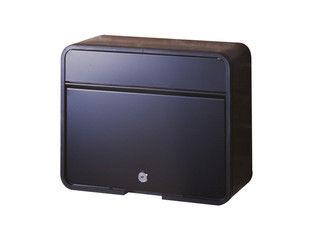 GREEN LIFE/グリーンライフ ファミリーポスト モダンタイプカムロック錠付 スチール マットブラック FH-58P(mBK)