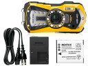 水深14mで水中撮影が可能!RICOH WG-40と純正バッテリー&充電器キットのお買い得セット!