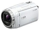 SONY/ソニー HDR-CX675-W(ホワイト) デジタルHDビデオカメラレコーダー Handycam/ハンディカム