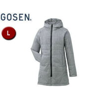 GOSEN/ゴーセン Y1605 レディースアイダーウォームスコート 【L】 (ライトグレー)の画像