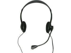 Groovy ボイスチャット用ヘッドセット HEADSET-A010BK(ブラック)