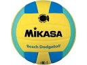 MIKASA/ミカサ ドッジボール ビーチドッジボール2号球 イエロー×ライトグリーン MGBD160YLG