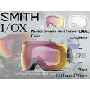 SMITH/スミス 【大人気のEarly Goggle】EARLY I/OX WISE ID(PHOTO/CLEAR) 【レンズ2枚付き】 【2016-17 早期限定販売】 【当社取扱いのスミス商品はすべて日本正規代理店取扱品です】
