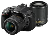 Nikon/ニコン D5300 ダブルズームキット2(ブラック) デジタル一眼レフカメラ【送料代引き手数料無料! 】