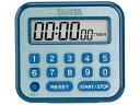 TANITA/タニタ デジタルタイマー 100時間計 TD-375-BL ブルー