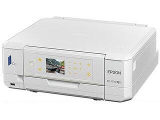EPSON/エプソン A4インクジェット複合機 colorio/カラリオ EP-777A ホワイト