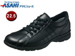 ASAHI/アサヒシューズ KS23362-1 快歩主義 L121AC レディースウォーキングシューズ 【22.5cm・3E】 (ブラック) 長時間歩いても疲れにくい軽量設計。?長い