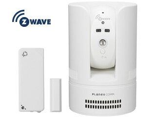 PLANEX/プラネックスコミュニケーションズ 無線センサー対応 パン・チルト ネットワークカメラ 4in1 センサーセット CS-W72Z-K1