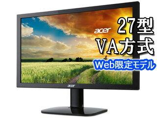 Acer/エイサー 【値下げしました】27型ワイドLED液晶ディスプレイ VA方式 KA270Hbid ブラック