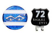 【nightsale】 LEZAX/レザックス SEAC-5560 スネークアイ クリップマーカー (ブルー)