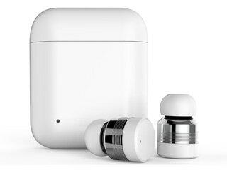Horen/ホーレン Bluetooth Ver.5.0 防水(IPX5)機能搭載完全ワイヤレスイヤホン FG-X1T-WH ホワイト