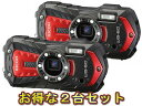 RICOH リコー RICOH WG-60(レッド)×2台セット【wg60set】