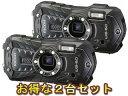 RICOH リコー RICOH WG-60(ブラック)×2台セット【wg60set】