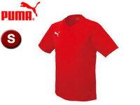 PUMA/プーマ 903291-2 ワンポイント半袖ゲームシャツ 【S】 (PUMA RED-W)の画像