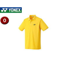 YONEX/ヨネックス 10300-450 UNIポロシャツ (スタンダードサイズ) 【O】 (コーンイエロー)の画像