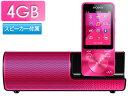 家電, AV, 相機 - SONY/ソニー NW-S13K-P(ビビッドピンク) スピーカー付4GB ウォークマンSシリーズ WALKMAN