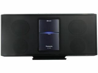 D-dock コンパクトステレオシステム(ブラック)[SC-HC05-K] - Panasonic