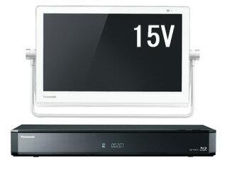 Panasonic/パナソニック UN-15TD7-W(ホワイト) VIERA/プライベート・ビエラ 15V型HDDレコーダー付ポータブルテレビ