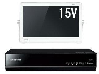 Panasonic/パナソニック UN-15T7-W(ホワイト) VIERA/プライベート・ビエラ 15V型HDDレコーダー付ポータブルテレビ