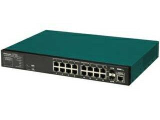 パナソニックESネットワークス 全ポートギガビット対応16ポート+SFP2スロット  Switch-M16eG PN28160K