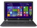 Acer/エイサー 15.6型ノートPC Aspire ES 15 ES1-533-H14D/K ミッドナイトブラック