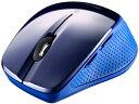 楽天ムラウチBUFFALO/バッファロー Bluetooth3.0対応 BlueLEDマウス 静音/5ボタン ブルー BSMBB26SBL