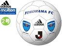 Jリーグオフィシャルライセンスボールadidas/アディダス(by molten) AMS21FY Jリーグサインボール 横浜FC 【2号球】