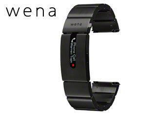 【nightsale】 SONY/ソニー WB-11A/B スマートウォッチ wena wrist pro Premium Black 【対応ラグ幅 22mm】【22mmエンドピース同梱】