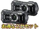RICOH/リコー RICOH WG-50(ブラック)×2台セット【wg50set】