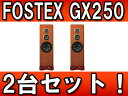 【送料無料】【smtb-u】FOSTEX 【2台セット!】 GX250 HY スピーカーシステム(ハニーイエロー)【送料無料】