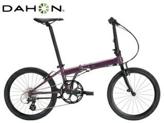 DAHON/ダホン Speed Falco 折畳み自転車 8speed 【20インチ】 (アメジスト) メーカー直送品のため【単品購入のみ】【クレジット決済のみ】 【北海道・沖縄・離島】【日時指定】商品になります。 精悍なルックスのクロモリスタンダードバイク。