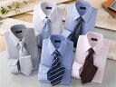 【shirt_10set】 Franco Collezioni/フランコ・コレツィオーニ 50405-10644 ワイシャツ5枚組&ネクタイ5本セット Sサイズ
