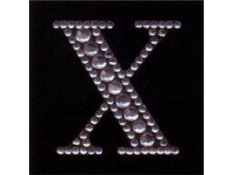 ARTE/アルテ ラインストーン アルファベットX MR-2054-X シートサイズ(H50×W50mm) 1個入 【deco】【hobby】【趣味】【シール】【オリジナル】【デコレーション】