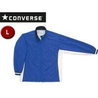 CONVERSE/コンバース CB13102S-2511 ウォームアップジャケット(裾ボックス仕様) 【L】 (ロイヤルブルー×ホワイト)の画像