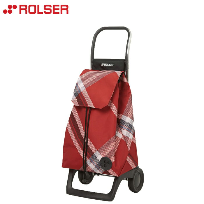 ROLSER /ロルサー ショッピングカート ジョイ ボラ チェック (レッド) 日本限定サイズのJOYシリーズ