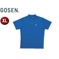 GOSEN/ゴーセン T1308 ユニ1Pポロシャツ 【XL】 (ブルー)の画像