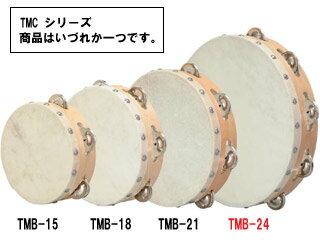 TMB-24皮つきタンバリン(タンブリン)24cm