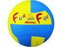 MIKASA/ミカサ ドッジボール ふあふあドッジ2号縫い イエロー×ブルー FFD2YB