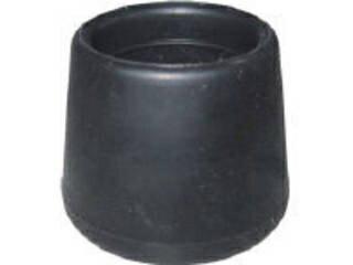 TRUSCO/トラスコ中山 イス脚キャップ 19mm 黒 4個組 TRRCC19-BK