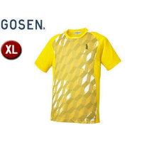 GOSEN/ゴーセン T1514 ゲームシャツ 【XL】 (イエロー)の画像