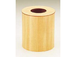 木製ルーム用ゴミ入れ蓋付(栓白木)/952H大